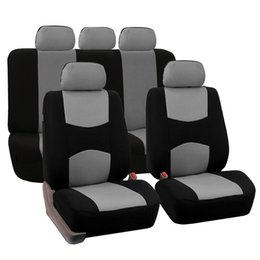Blue Gray Car NZ - New Car Seat Covers Universal Beige Blue Gray Automotive Seat Covers For Toyota Lada Kalina