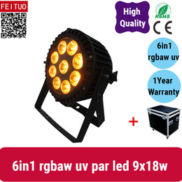 $enCountryForm.capitalKeyWord Australia - 6lights with road case party light outdoor 9*18w led par 64 6 10 channels 6 in 1 waterproof par