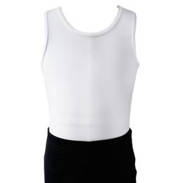 545739dafefdd NT1806101 Boy s Competition training Gymnastics shirt leotard basic Ballet  Practice Atheletic Tank Bodysuit