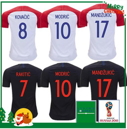 a2501012e01 2018 2019 MODRIC home away Soccer Jersey SRNA PERISIC RAKITIC MANDZUKIC  SRNA KOVACIC Red KALINIC Hrvatska Football Shirt