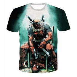67a7696f5 Marvel Heroes T Shirts Canada - GUMPRUN Summer New Men Marvel Heroes Series  Anime T-