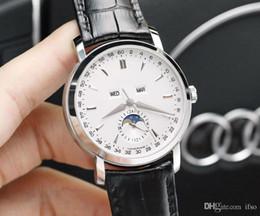 mechanical moonphase 2018 - women luxury Watch cosmic moonphase Triple Calendar sapphire 41mm swiss quartz Movement women V6 factory Wristwatches Wa