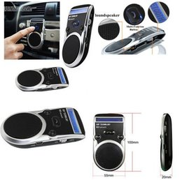 $enCountryForm.capitalKeyWord Canada - B35 2016 new hot Cellphone Solar Powered Bluetooth Hands Free Car Kit Speaker Phone Caller LCD Display