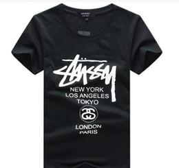 Sales Designer Clothes Canada - hot sales cotton New 2016 Mens Summer Tees Plus Size Shirt Short Sleeve t shirt Printed Cotton T-shirt Men Designer Clothing L-5XL