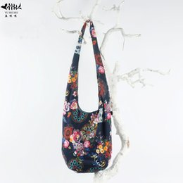 2018 Newest Vintage Hipster Thai Top Bags Bohemian Gypsy Hobo Hippie Bucket  Bag Women Shoulder Crossbody Bags Women s Handbag edab50d2bc022