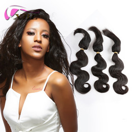 Wholesale brazilian braiding hair online shopping - XBL Malaysian Human Hair Bundles Curly Braid In Bundles Human Hair Extensions Body Wave Straight Hair Weave