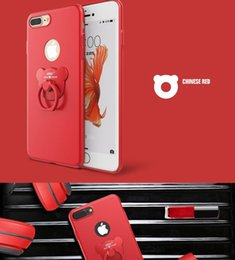 Phone Holder For Sale NZ - 2018 Hot sale 6 Colors 360 Degree Full Cover Case Finger Ring Grip Hook Holder Phone Shell Protect Case for iPhone 6   6S 7 7 Plus