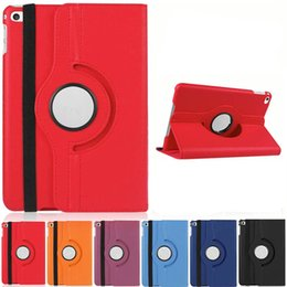 Shockproof ipad caSe Stand online shopping - For iPad mini Case Lichee Pattern Case Fashion Degree Rotation PU Leather Stand Cases