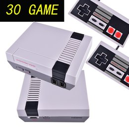 China Mini TV Game Console can store 30 game Video Handheld for NES games consoles with retail boxs OTH680 cheap handheld mini games suppliers