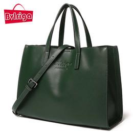 $enCountryForm.capitalKeyWord Canada - Bvlriga Luxury Handbag Women Bag Designer Genuine Leather Bag Women Leather Handbags Green Red Shoulder Crossbody Messenger Bag