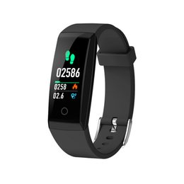 $enCountryForm.capitalKeyWord UK - OTA Automatic Heart Rate Monitor Smart Bracelet Pedometer Tracker Smart Watches Color Screen Smartwatch For iPhone Android Smart Phone Watch