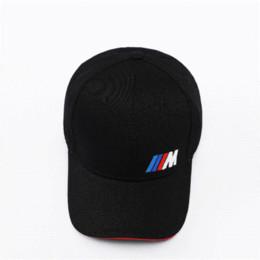 Auto styled m emblem Baseballmütze Für BMW E46 E39 E90 E60 E36 F30 F10 F20 E38 E91 E53 E70 X5 im Angebot