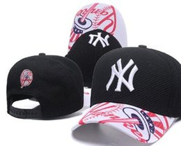 72b6beab039 2019 Sports baseball Cap ny Curved Brim flat NY hat Slouch Embroidery  Thounds styles outlet Adjustable Snapbacks Hats Drop Shipping