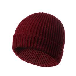 $enCountryForm.capitalKeyWord NZ - autumn winter knitted beanie hat mens women solid short chapeus cap