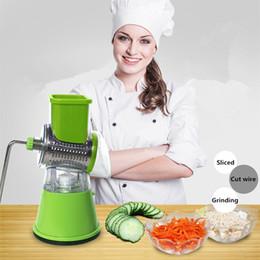 Spiral Slicer potatoeS online shopping - New Design Vegetable Spiralizer Potato Spiral Cutter Slicer Vegetable Grater Manual Food Chopper Salad Fruit Cutter Kitchen Tools Gadgets