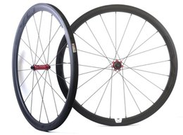 bike wheel straight Australia - Carbon Wheels 38mm 45mm 50mm 25mm clincher road bike wheels R13 straight pull hubs Carbon Road Clincher Wheels