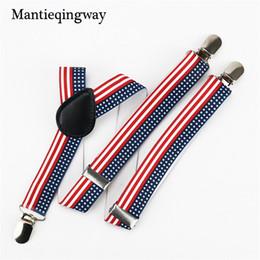 Discount belts for kids wholesale - Fashion 2.5cm Elastic Suspenders for Kids Boys Girls Leather Suspender Brace Belt Strap Children Wedding Braces