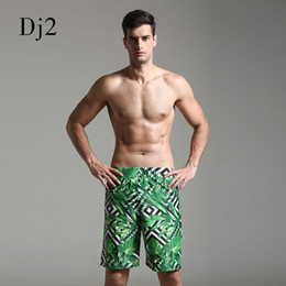 Wholesale digital printed swimwear online – Spandex Swimwear Men Brand High End Digital Print Beach Wear Men Long Trunks Swim Briefs Surf Beach Wear Swimming Pool Shorts Male