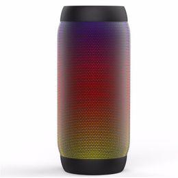 $enCountryForm.capitalKeyWord Australia - Colorful waterproof bluetooth speaker LED lights card audio Y35 portable USB power subwoofer creative subwoofer support TF card