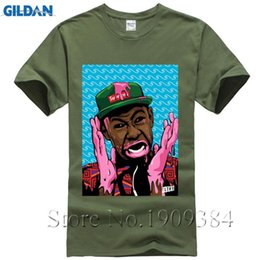 e09c56023258fc Mens T Shirts Fashion 2017 Odd Future Ofwgkta T-shirt Tyler T Shirt The  Creator Earl Drawing Odd Future Shirts Men Clothing