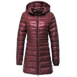 $enCountryForm.capitalKeyWord Canada - Women Ultra Light Down Jacket Autumn Winter Warm White Duck Down Parkas Long Hooded Thin Lightweight Coat Plus Size S~6XL AB497Y1882501