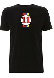 Großhandel James Hunt 1976 McLaren F1 inspiriert T-Shirt Nr. 11 Formel 1 Welt Kaufen