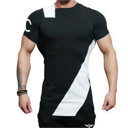 12c465bcbef5 2018 Summer Casual Gyms Body Engineers Stringer T-shirt Man Gyms Bodybuilding  And Fitness Crime cotton Short Sleeve T t-shirts