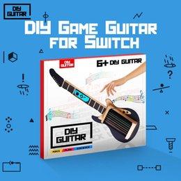 Fai da te chitarra per NS Switch Labo Rubber Band Guitar Music Kit regalo per ragazze dei ragazzi