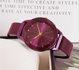 346c9ee58328 Cute Flowers Shape Gift Women Watch Fashion Luxury Brand Steel Famous  Design Relojes De Marca Mujer Lady Dress Watch With Starry sky Dial
