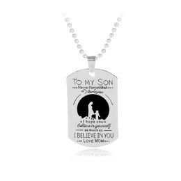 Shop mum pendants uk mum pendants free delivery to uk dhgate uk mum pendants uk 12pcs lot mom son necklace to my son love mum charm necklace aloadofball Image collections