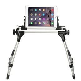Stand Mount For Tablets Australia - Tablet Stand Phone Holder Adjustable Lazy Bed Floor Desk Tripod Foldable Desktop Mount for IPhone IPad Kindle Galaxy Tab Support