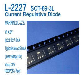 Wholesale CRD, Current regulative Diode L-2227 SOT-89-3L Application to LED fluorescent lamp, LED bulb light, LED small power products