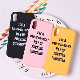 Cool Cases For Iphone 5s Australia - Summer Good Vibes Cool Quote Funny Holiday Cute Soft TPU Silicone Candy Case Coque For iPhone 6 6S 5 5S SE 8 8Plus X 7 7Plus