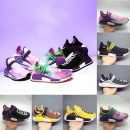 3a91fe572d13e Wholesale High Quality Human Race Pharrell Williams Hu trail NERD Blank  Canvas Men Womens Running Shoes noble ink core sports Shoes eur36-45  supplier ...