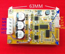 Опт Freeshipping 350W 5V-36V DC бесщеточный контроллер двигателя BLDC трехфазный драйвер 12 В 24 В с радиатором