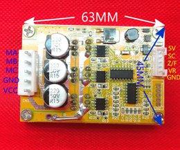 12v dc motor driver online shopping - Freeshipping W v V DC Brushless motor Controller BLDC Three phase Driver board V V with heat sink