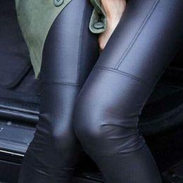 Plus Size Brown Leggings NZ - 2019 Women Sexy Black Coffee Modal Leggings Leggin Plus Size Girl Pants Patent Leggings DropShipping