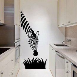 Modern Tiles For Kitchen NZ - decals for kitchen Zebra wall decals modern art decoration for your kitchen bedroom or livingroom , zebra wall stickers art murals