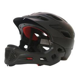 $enCountryForm.capitalKeyWord NZ - 3-10 Years Old Full Covered Kid Helmet Balance Bike Children Full Face Helmet Cycling Motocross Downhill MTV DH Safety