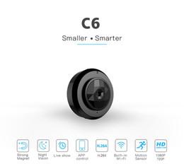 C6 Mini Camera Wireless Wifi IP Camera HD 720p Night Vision MINI DV Portable Motion Detection DVR Home Security Video Camcorder on Sale