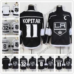 Mens Youth Womens  11 Anze Kopitar 8 Drew Doughty 32 Jonathan Quick Gretzky  Carter Black White Kids 2018 Los Angeles Kings Hockey Jerseys d9b26dcdb