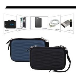 1tb usb hard drives 2019 - Wave Type Protective Hard Shockproof Bag Case for 2.5 inch 1TB 2TB USB 3.0 External Hard Drive box discount 1tb usb hard