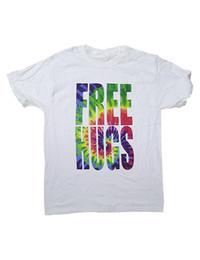 $enCountryForm.capitalKeyWord UK - Casual Printed Tee Size S-2Xl Short Sleeve Men Printing Machine Free Hugs Tie Dye Lettering O-Neck T Shirts