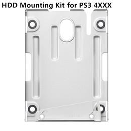 Ücretsiz kargo Sabit Disk Sürücüsü HDD Montaj Braketi Playstation 3 PS3 4000 mevcut instock için Montaj kiti Standı