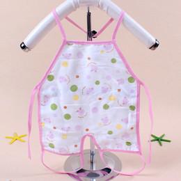 $enCountryForm.capitalKeyWord Australia - 1 pc New Children Baby Todders Waterproof Long Sleeve Art Smock Bibs Apron Cartoon Feeding baberos bavoir clothing