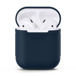 $enCountryForm.capitalKeyWord UK - Headphone Silicone Protective Case Cover for Airpod Earphone Accessories Silicone Earphone Protective Case Multi Color Earphones Case