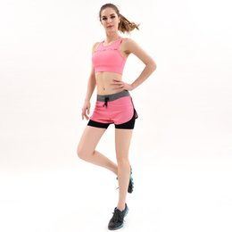 running speed suit 2019 - Summer New Pattern Yoga Serve Speed Do Bodybuilding Serve Motion Run Leisure Time Close Leisure Time Motion Suit Woman b