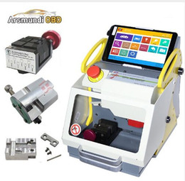 $enCountryForm.capitalKeyWord Australia - Original 3 Clamps automatic key cutting machine SEC-E9 portable smart duplicate car key cutting machine SEC E9 Work Car Truck Motorcycle