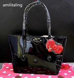 a4a32bc8f6 Discount hello kitty handbags women - New Hello kitty Handbag Shoulder Bag  Purse yey-43181B