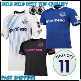 2018 2019 BEST QUALITY Walcott everton soccer jerseys ROONEY 18 19 everton  home SIGURDSSON CENK TOSUN FUNES MORI Football uniforms shirts b0b469da9